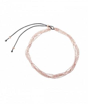 """Bracelet """"Colette"""" doré rose"""