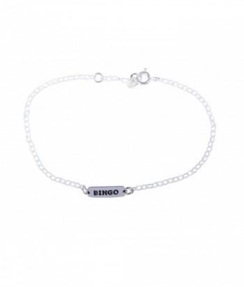 """Bracelet """"Elda - Bingo"""" en argent"""