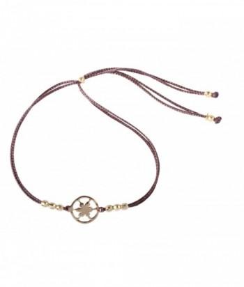 """Bracelet """"Elias - Soleil"""" argent doré"""