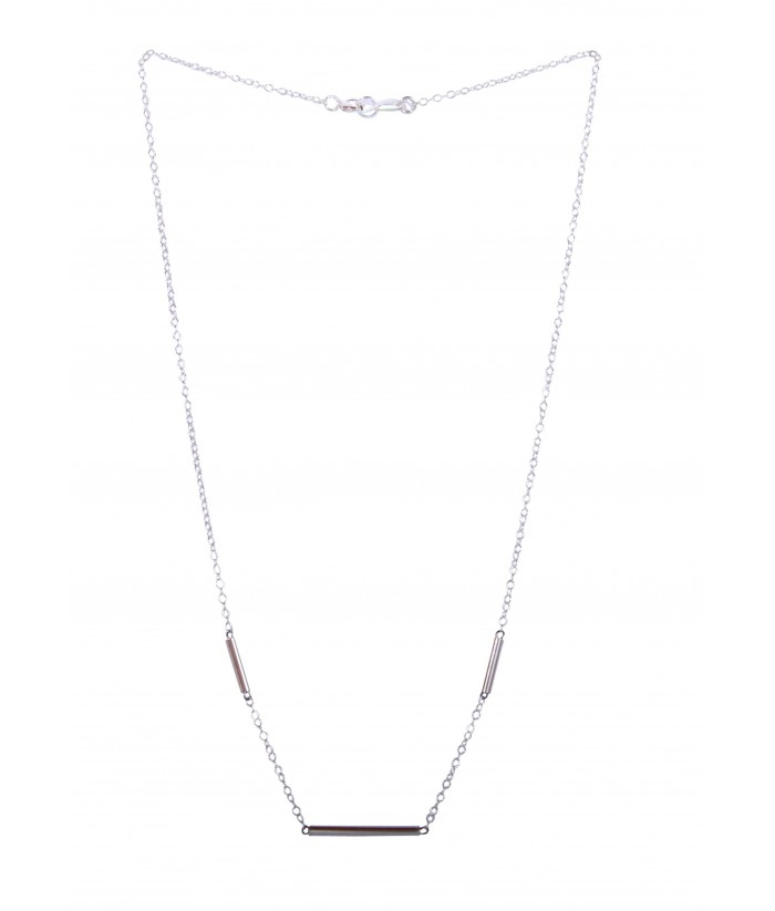 "Collier ""Honorine"" argent"