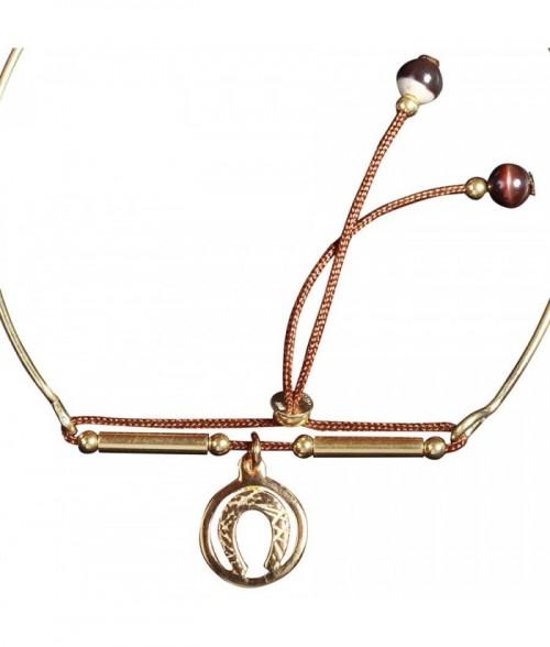 """Bracelet """"Lina"""" en dor"""