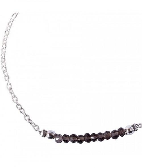 """Bracelet """"Palma"""" pierre Pyrite sur argent"""