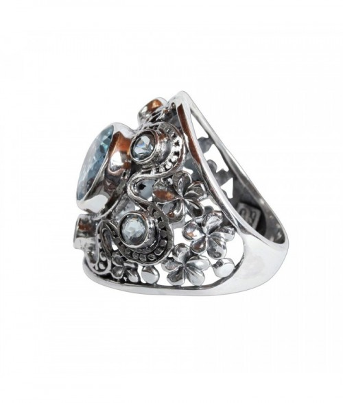 Bague multi anneaux grav