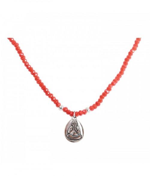 """Bracelet """"Ophélie"""" en argent et pierres fines Turquoise"""
