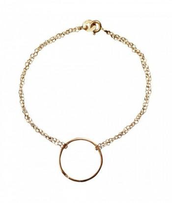 "Bracelet ""Cara"" argent doré"