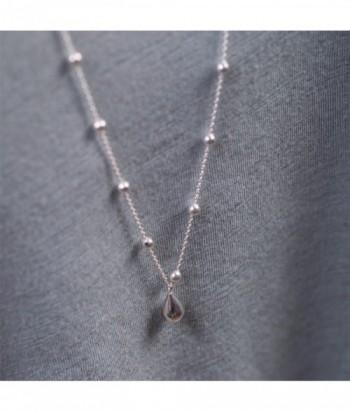 Collier perle goutte HEIDI