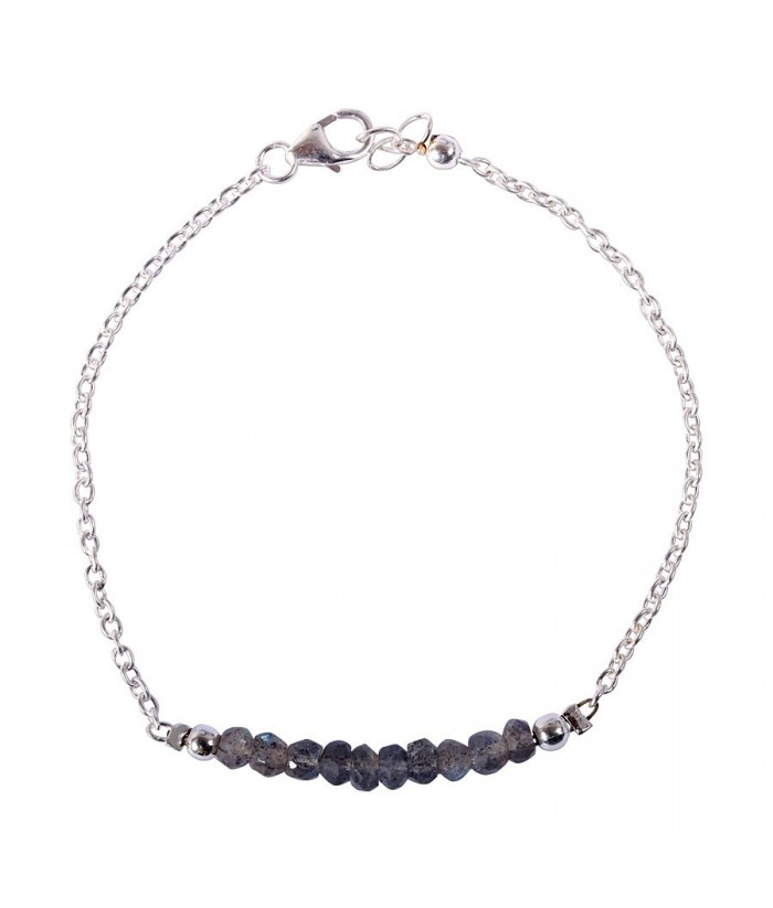 """Bracelet """"Palma"""" pierre Labradorite"""