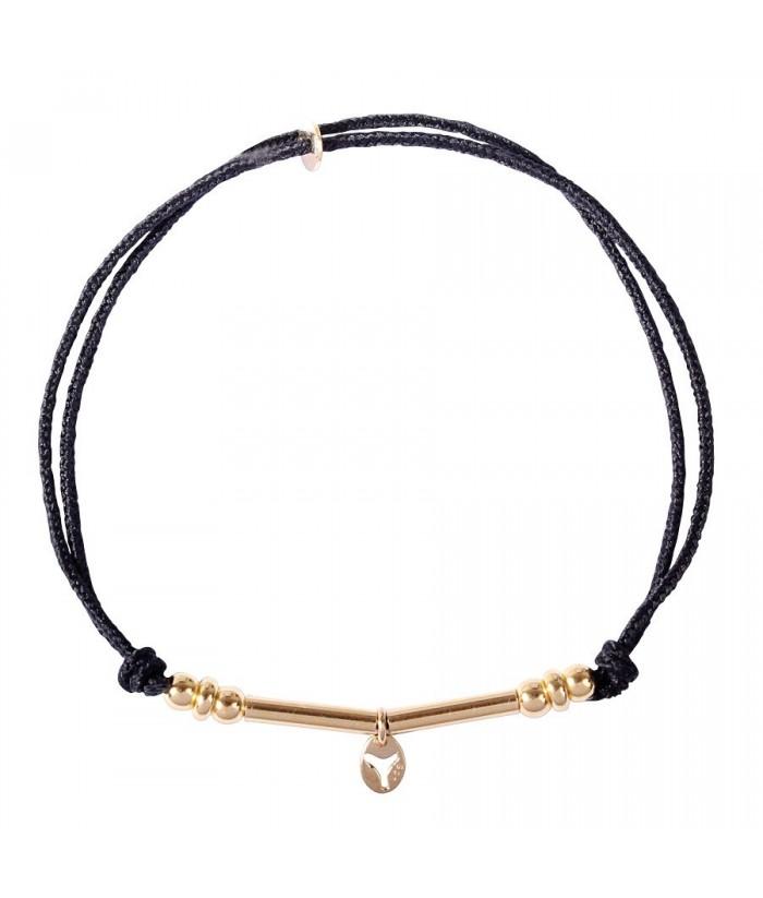 """Bracelet """"Hippolyte"""" doré"""