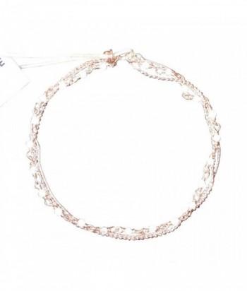 """Bracelet """"Nolwenn"""" pierres fines Pierre De Lune et chaines en dor"""