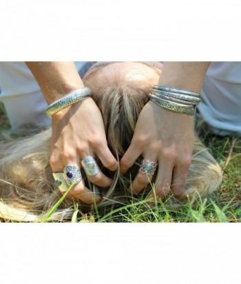 "Bracelet jonc ""Levna"" en argent"
