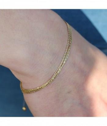 """Bracelet """"Herwann"""" doré rose"""