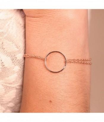 Bracelet CARA SIMPLE vermeil rose
